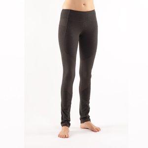 Lululemon Equanimity Pant Deep Camo Pique Green Size 2 XS